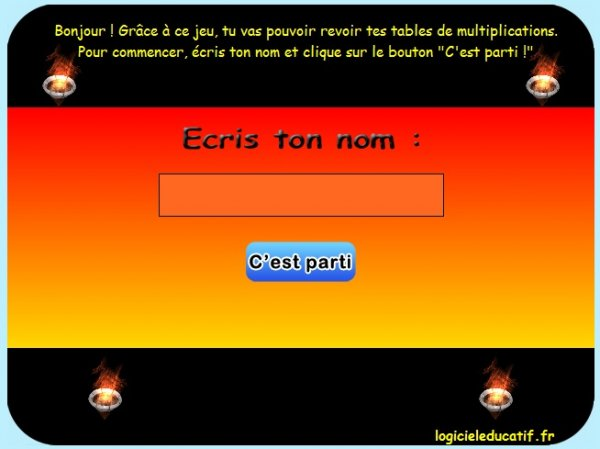 jeux cheval table de multiplication